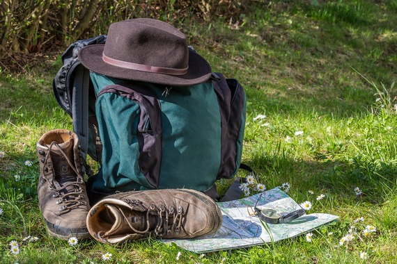 Bring your own backpacking gear