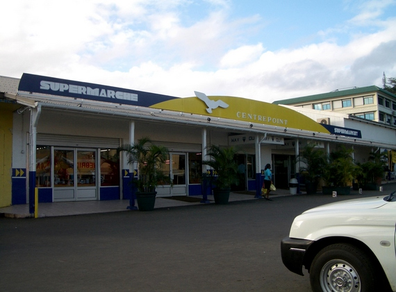Centrepoint supermarket in Port Vila downtown
