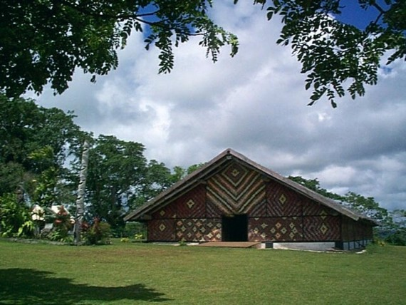 The National Museum of Vanuatu building