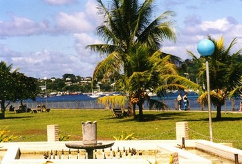 Port Vila harbour walk