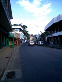 A street in Port Vila