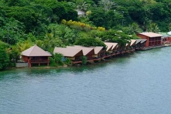 Sunset Bungalows in Port Vila, Vanuatu