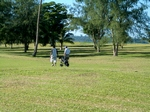 Golfing in Port Vila